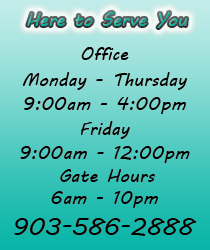 Lakeside Self Storage: Hours of operation